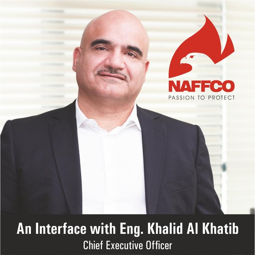 An Interface with Eng  Khalid Al Khatib Chief Executive Officer